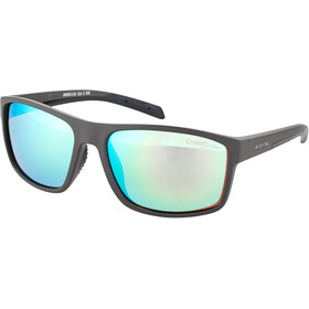 Alpina Nacan I Gafas, anthracite matt-black/neon yellow mirror